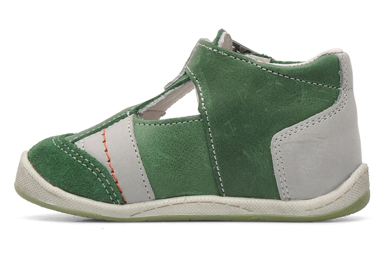 Sandales et nu-pieds Babybotte PANPI Vert vue face