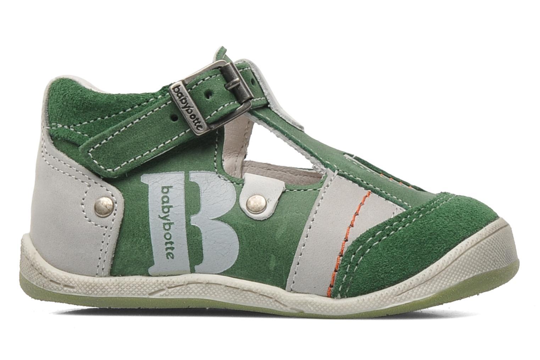 Sandales et nu-pieds Babybotte PANPI Vert vue derrière