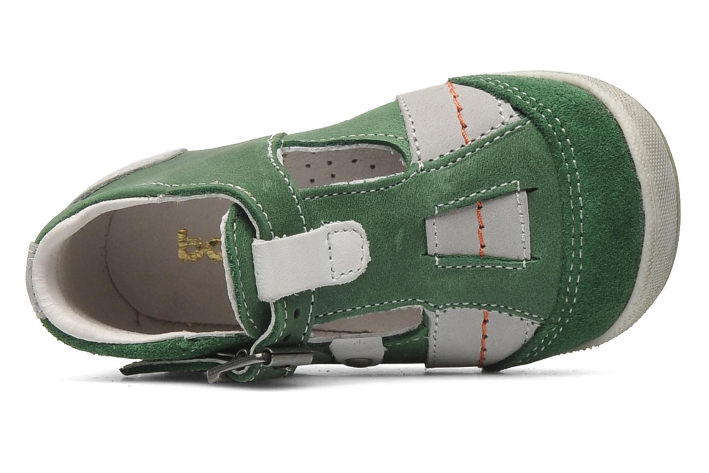 Sandales et nu-pieds Babybotte PANPI Vert vue gauche