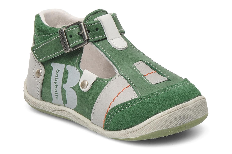 Sandales et nu-pieds Babybotte PANPI Vert vue détail/paire