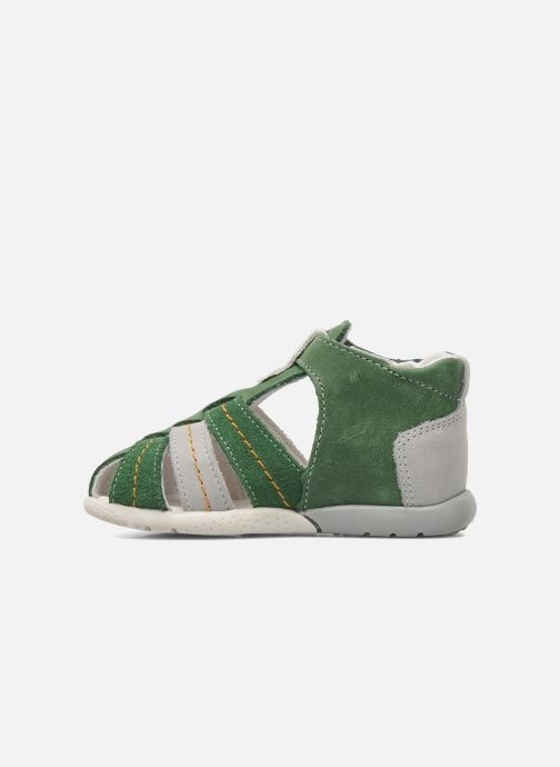 Sandalen Babybotte GIOVANI grün ansicht von vorne