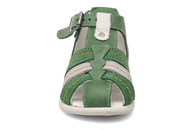 Sandales et nu-pieds Babybotte GIOVANI Vert vue portées chaussures