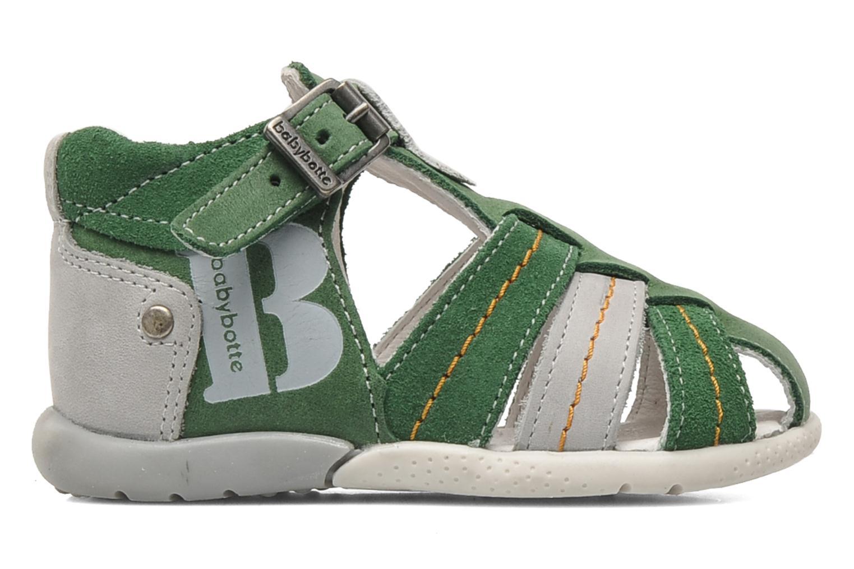 Sandales et nu-pieds Babybotte GIOVANI Vert vue derrière