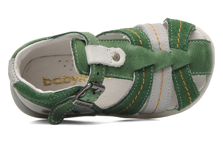 Sandales et nu-pieds Babybotte GIOVANI Vert vue gauche