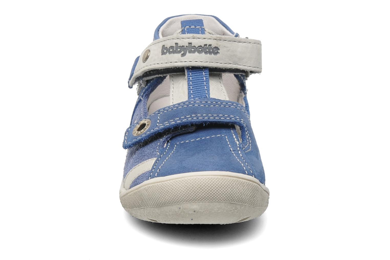 Velcro shoes Babybotte STYLI Blue model view