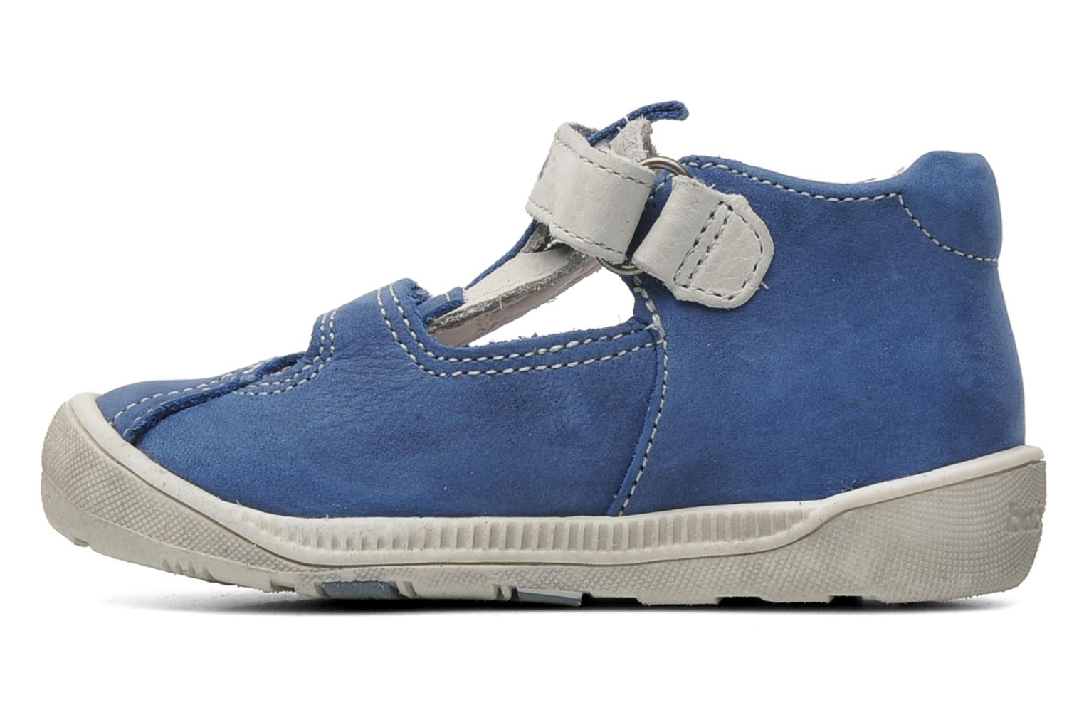 Velcro shoes Babybotte STYLI Blue front view