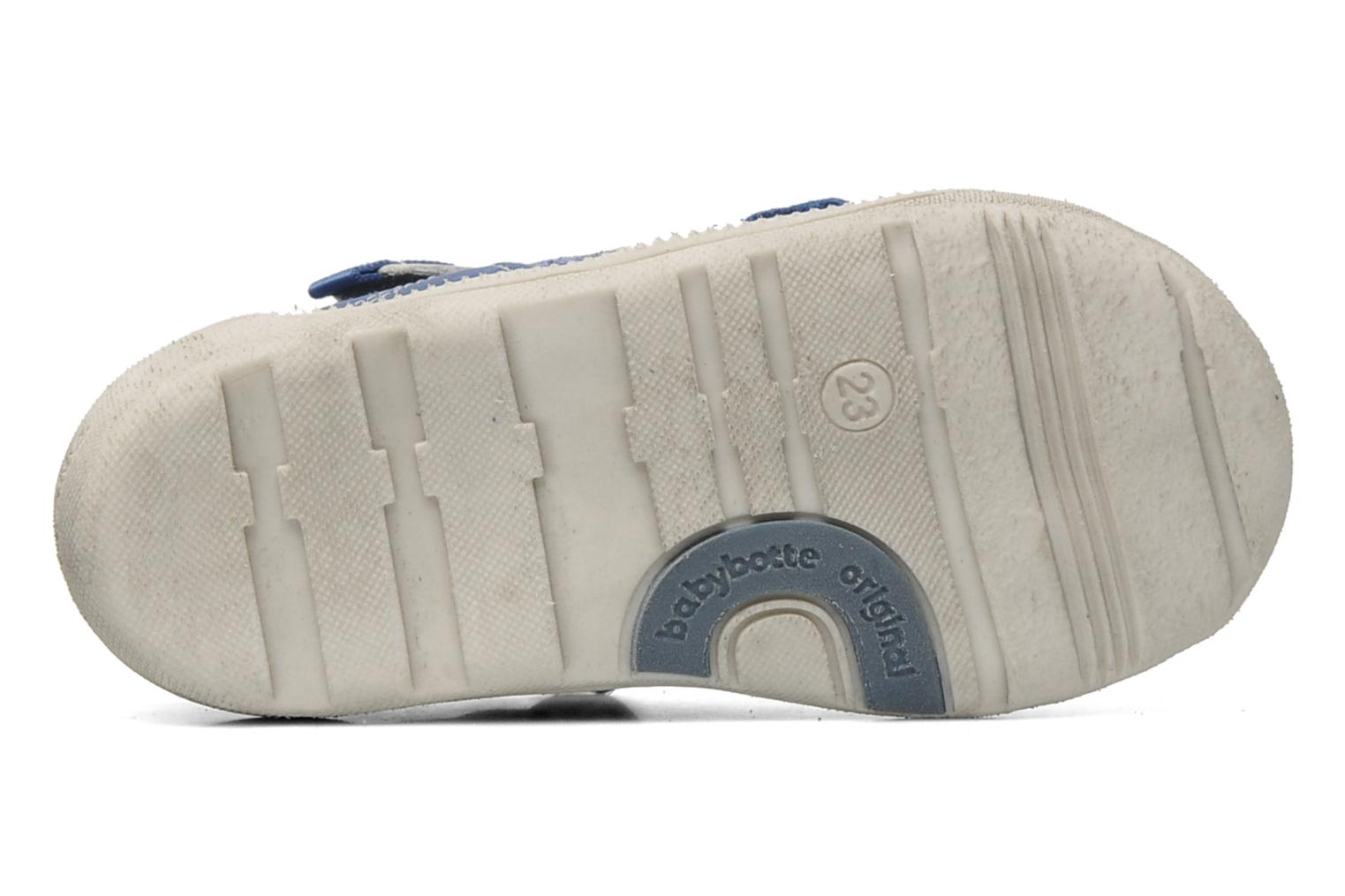 Velcro shoes Babybotte STYLI Blue view from above