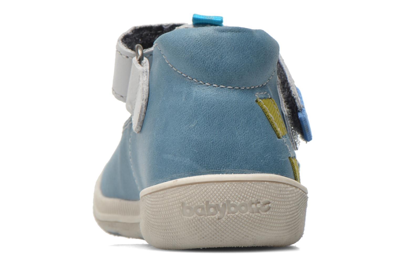 Chaussures à scratch Babybotte STYLI Bleu vue droite