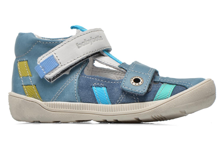 Chaussures à scratch Babybotte STYLI Bleu vue derrière