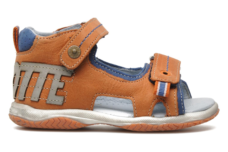 Sandals Babybotte TITOUAN Orange back view