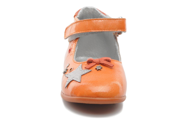 Ballerines Babybotte SHERIFA Orange vue portées chaussures