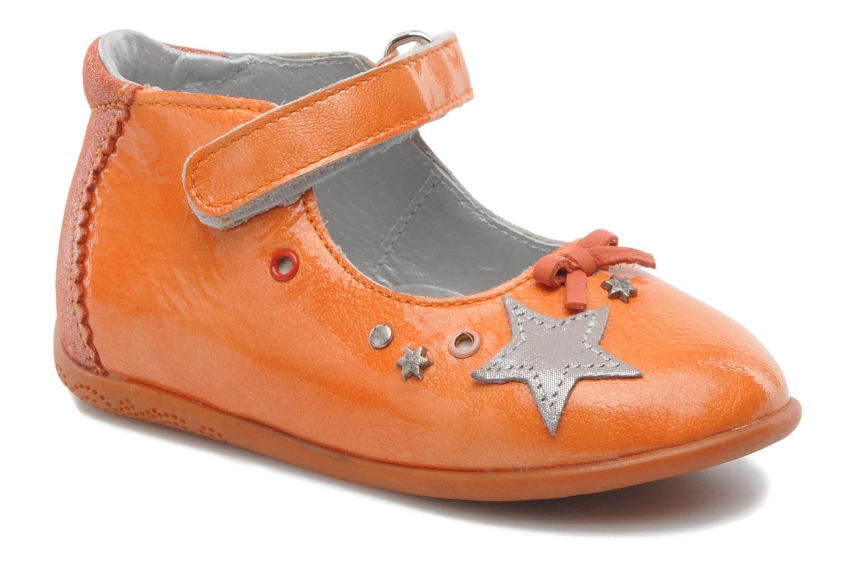 Ballerines Babybotte SHERIFA Orange vue détail/paire