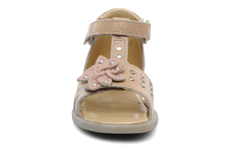 Sandales et nu-pieds Babybotte TAHIS Orange vue portées chaussures
