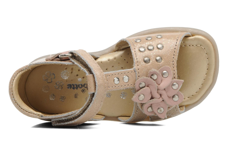 Sandales et nu-pieds Babybotte TAHIS Orange vue gauche