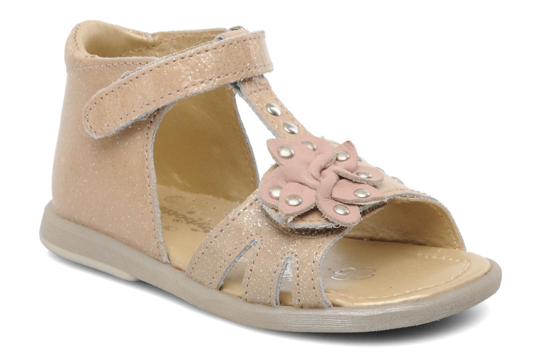 Sandales et nu-pieds Babybotte TAHIS Orange vue détail/paire