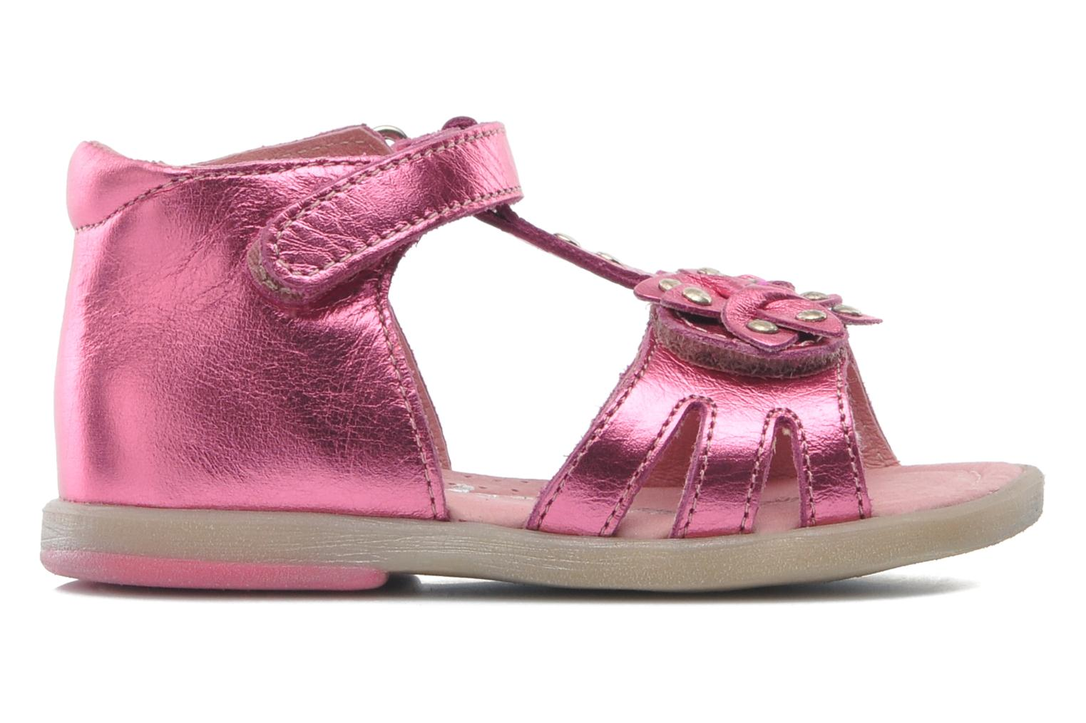 Sandals Babybotte TAHIS Pink back view