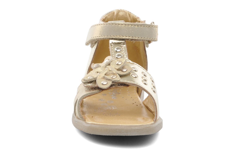 Sandales et nu-pieds Babybotte TAHIS Or et bronze vue portées chaussures