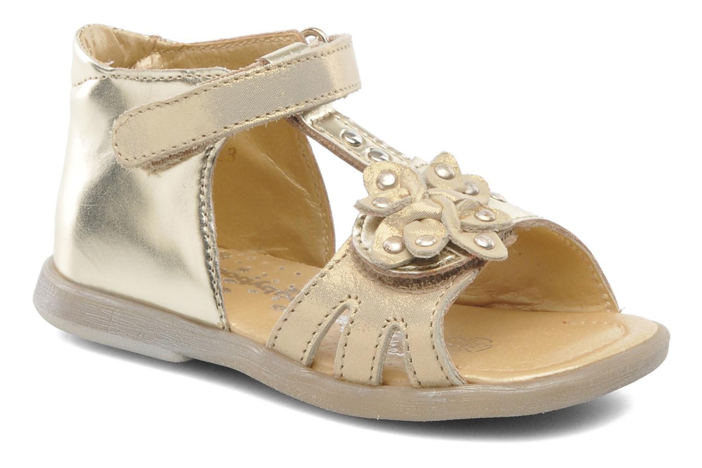 Sandales et nu-pieds Babybotte TAHIS Or et bronze vue détail/paire