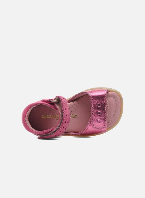Sandalen Babybotte TZARINE rosa ansicht von links