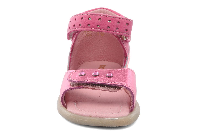 Sandales et nu-pieds Babybotte TZARINE Rose vue portées chaussures