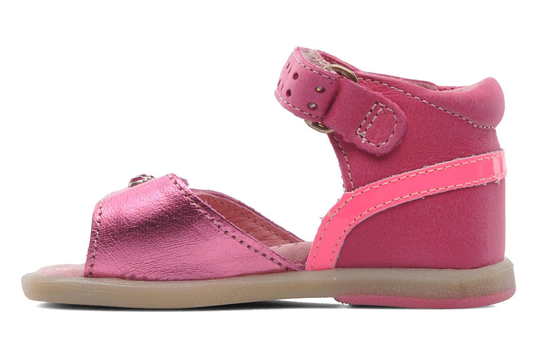 Sandales et nu-pieds Babybotte TZARINE Rose vue face
