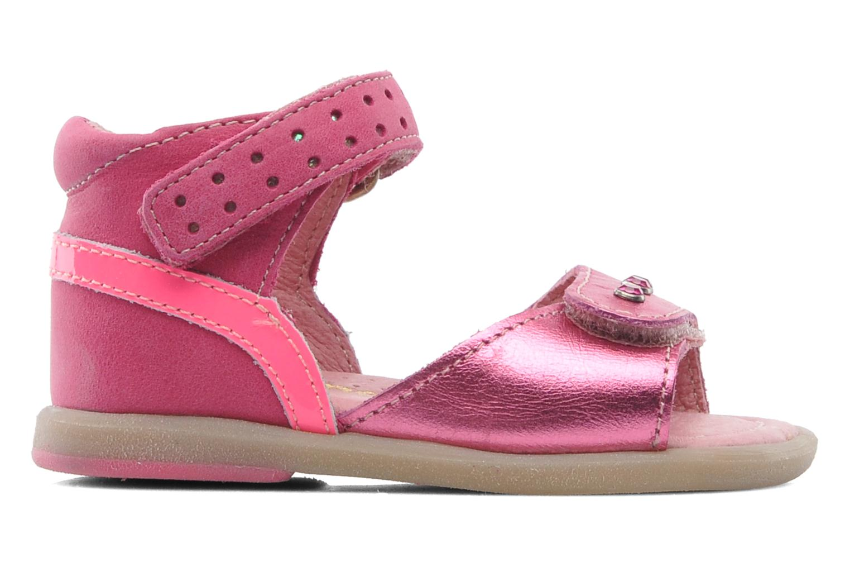 Sandales et nu-pieds Babybotte TZARINE Rose vue derrière