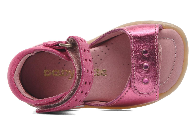 Sandales et nu-pieds Babybotte TZARINE Rose vue gauche