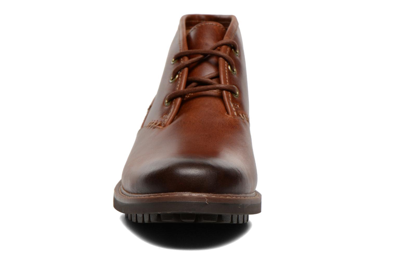 Chaussures à lacets Clarks Montacute Duke Marron vue portées chaussures