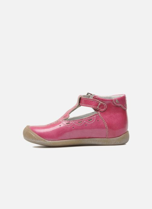 Bottines d'été Little Mary POMMETTE Rose vue face