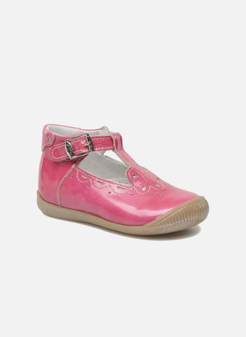 Bottines d'été Little Mary POMMETTE Rose vue détail/paire