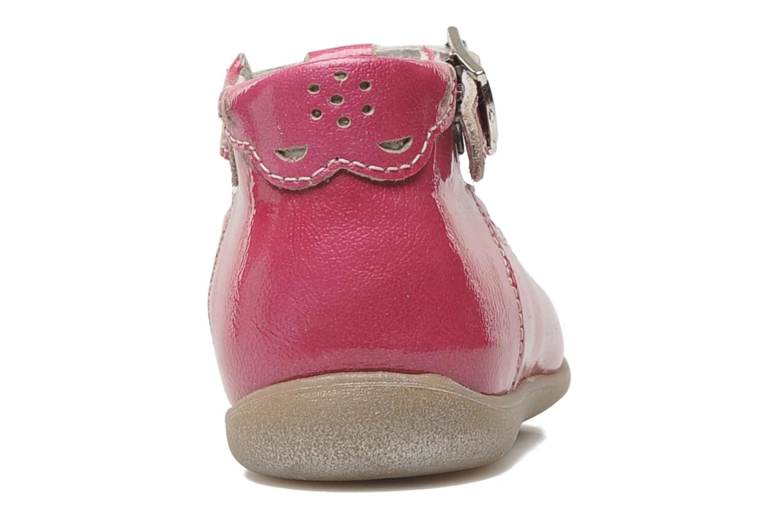 Summer boots Little Mary POMMETTE Pink view from the right