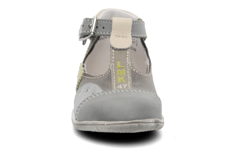 Sandales et nu-pieds Little Mary PANTIN Gris vue portées chaussures