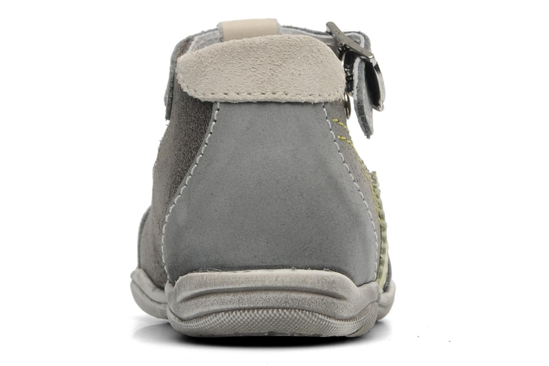 Sandales et nu-pieds Little Mary PANTIN Gris vue droite