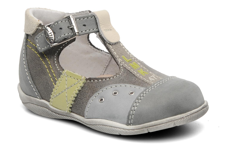 Sandales et nu-pieds Little Mary PANTIN Gris vue détail/paire