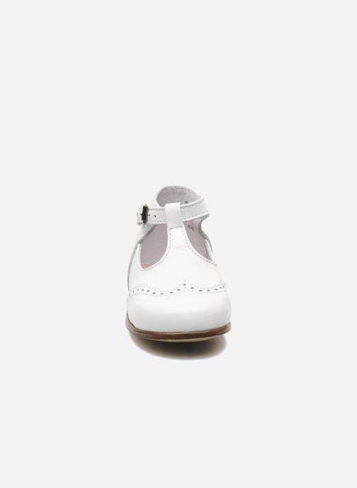 Bottines d'été Little Mary François Blanc vue portées chaussures