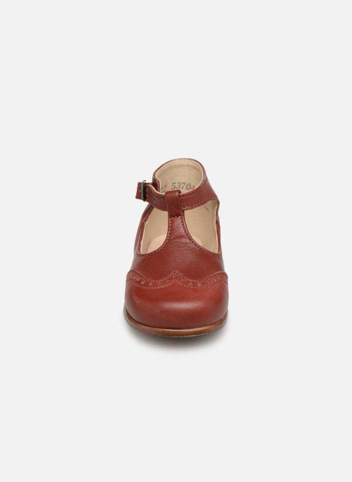 Bottines d'été Little Mary François Bordeaux vue portées chaussures