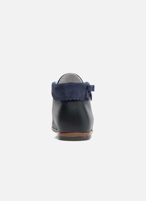 Ankle boots Little Mary OLEA Blue view from the right