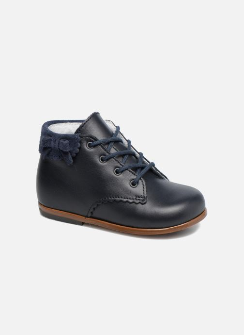 Ankle boots Little Mary OLEA Blue detailed view/ Pair view