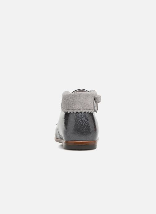 Ankle boots Little Mary OLEA Grey view from the right