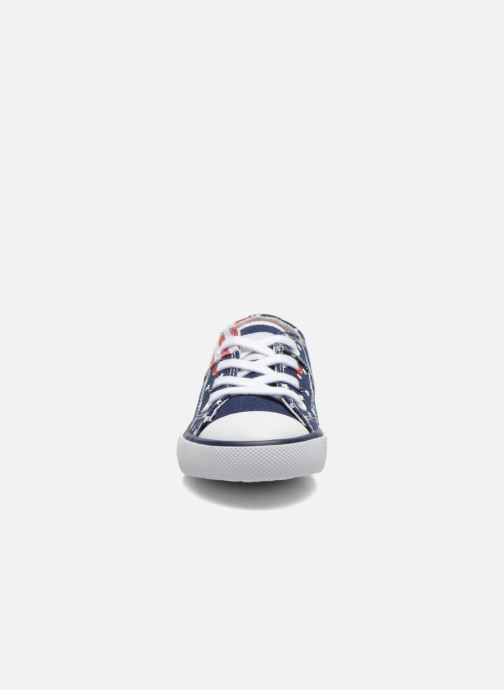 Baskets Little Mary LITTLE TENNIS Blanc vue portées chaussures