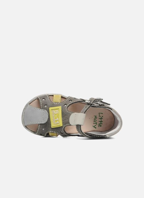 Sandals Little Mary PANAMA Grey view from the left