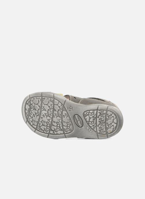 Sandales et nu-pieds Little Mary PANAMA Gris vue haut