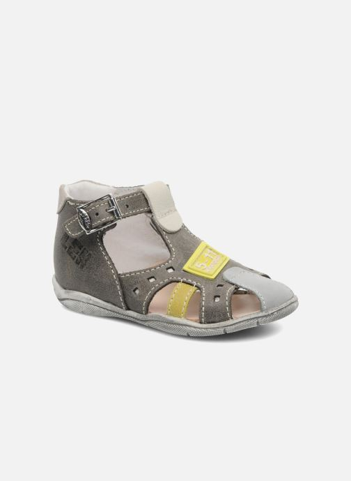 Sandals Little Mary PANAMA Grey detailed view/ Pair view
