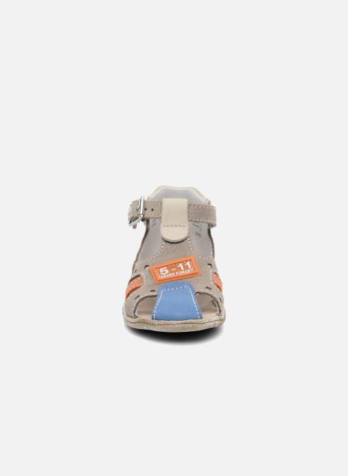 Sandales et nu-pieds Little Mary PANAMA Gris vue portées chaussures