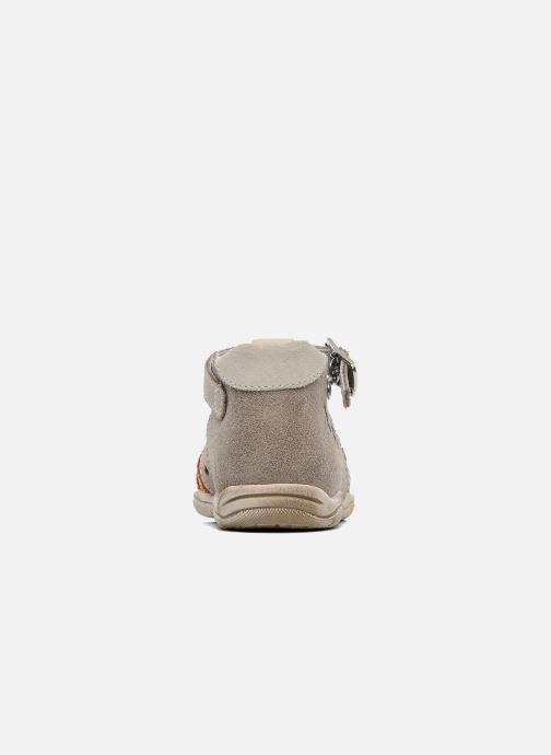 Sandales et nu-pieds Little Mary PANAMA Gris vue droite