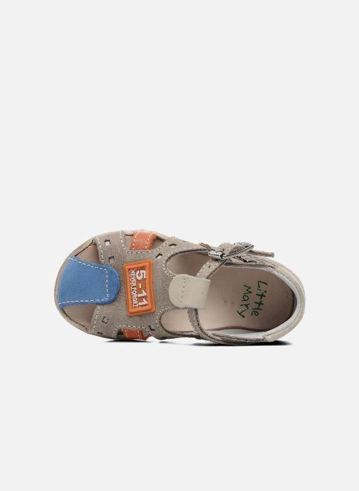 Sandales et nu-pieds Little Mary PANAMA Gris vue gauche