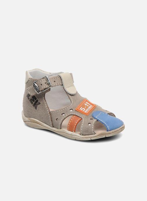 Sandales et nu-pieds Little Mary PANAMA Gris vue détail/paire