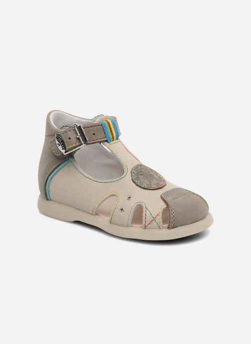 Sandales et nu-pieds Little Mary PABLO Gris vue détail/paire