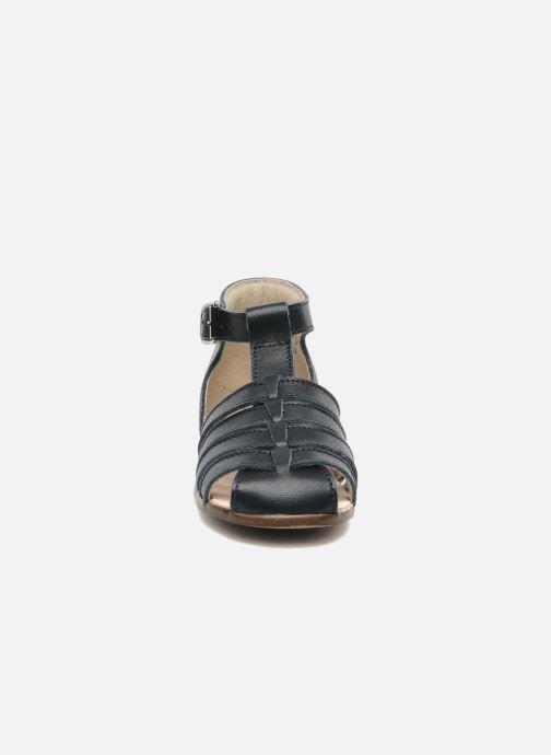 Sandales et nu-pieds Little Mary Jules Bleu vue portées chaussures