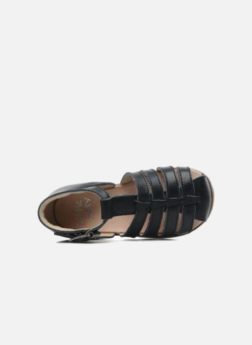 Sandales et nu-pieds Little Mary Jules Bleu vue gauche